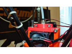 FLSUN Effector E3D V6 Adapter