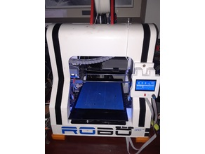 Full graphics RepRap Smart Lcd case (Detachable Mount)