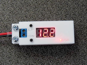 Enclosure for Drok DC-DC USB Voltage Converter 12V to 5V/2A