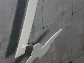 Butterfly Spring Net Hanger