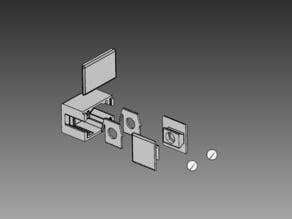 Double Keys Box Puzzle