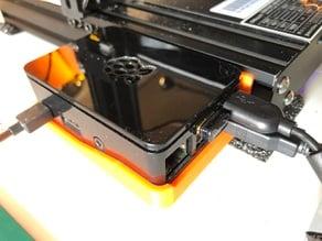 Raspberry Pi Case on Ender 3 Mount