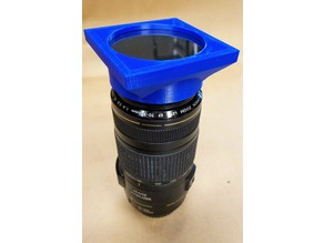 Solar Filter Holder - Canon 58mm lens with 2 tabs
