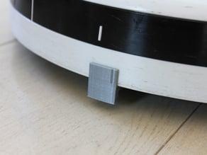 Roomba bumper add-on, doorstep stopper