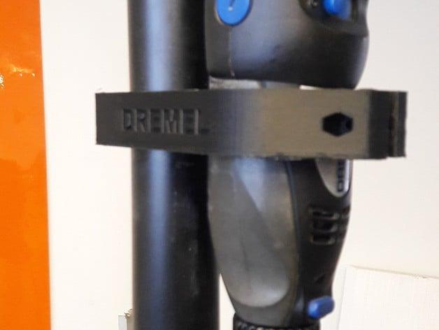 Clip soporte dremel by canalla thingiverse - Soporte para dremel ...