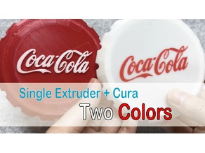Coca-cola Cap - One end but two color!!