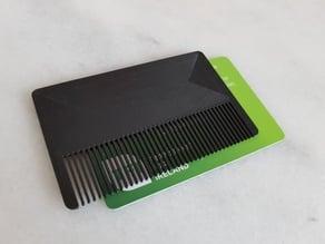 Wallet Comb