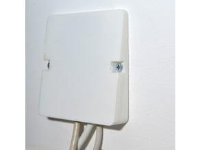 box for wall cable outlet - Boîte pour sortie de cable murale
