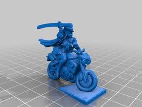 Kill La Kill Satsuki on Bike Miniature