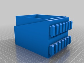 Double deckbox : modular (2-12 decks)