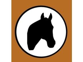 Horse Fridge Magnet