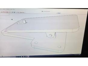 Pedal für RC Flugzeug Rampe / Katapult