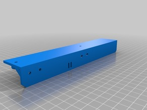 Monoprice Select Mini extended bed brackets