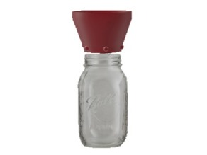 Kefir Water Quart Jar Strainer - (+-1 litre Mason Jar)