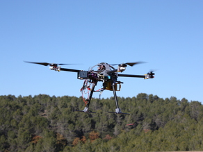 3DMAV quadcopter.