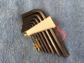 Simple Hex Key Bracket Imbus