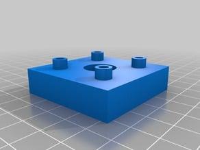 Simple Peg Board Mount