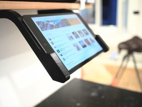 iPad mini – simple shelf mount