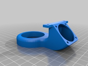 Wanhao Duplicator i3 Cooling Duct: 30mm and 40mm