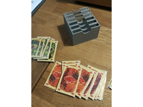 Settlers of Catan printed  Resources Cards  holding Box