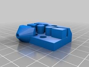 Mini Kossel Carriage for Hiwin MGN9C