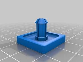 Push button drill press