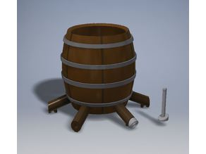 Barrel Drinks Dispenser 4,6,8 and 12 ways with plugs