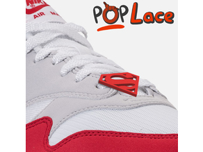 SUPERMAN LOGO - ACCESSORY FOR SHOE LACE - POPLACE