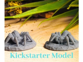 Supportless Spider - Kickstarter Test Model
