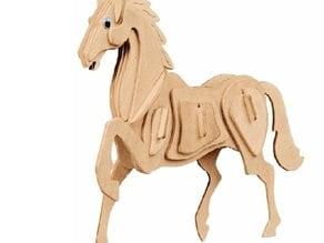 3D-Puzzle Horse