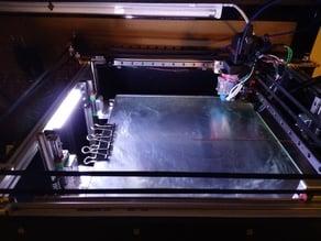 Railcore 1515 Segmented LED Light Strip Diffuser