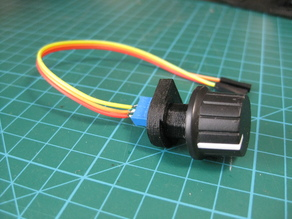 Potentiometer from the multi-torn resistor