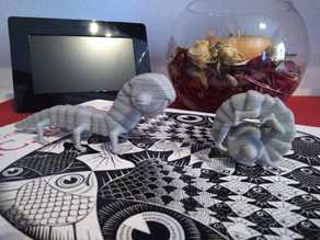 Escher Worm