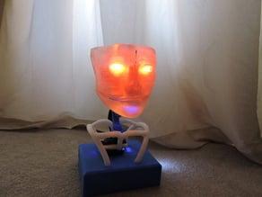 Animated Humanoid Robot Head