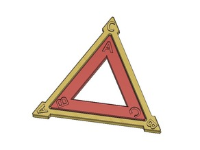 Dihedral Group D3, Equilateral Triangle, Symmetries