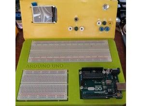 Arduino UNO formfactor breadboard