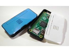Minimalistic Snap-on Screwless Raspi Case for Raspberry Pi Zero