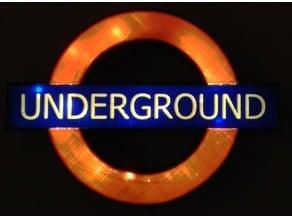 London Underground Roundel Lightbox