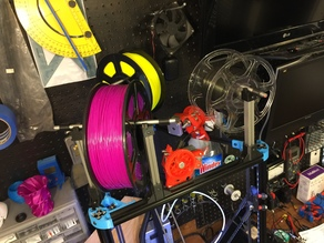 Kossel XL 2020 filament spool holder