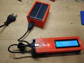 cargador solar 5v