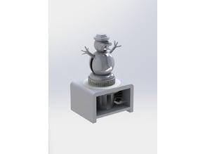 Snowman Christmas Automata