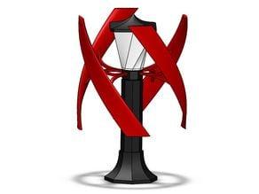 VAWT Lamp Post