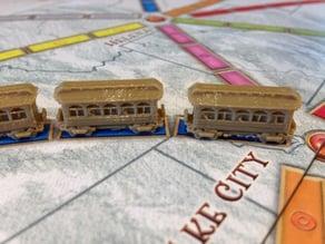 TTR Clerestory Train Car