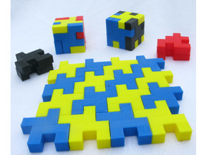 Two Hollow Cube Puzzles
