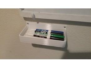 Marker or Eraser Tray for Whiteboards