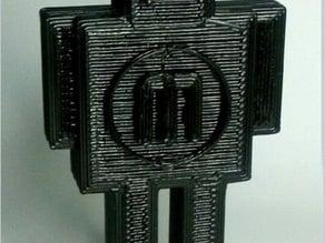 Mr Roboto - Makerbot Mascott Wannabe