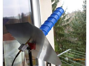 Helix antenna for Outernet