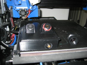 Waterproof ROV Tether control box and reel cable management additions for use with an ROV