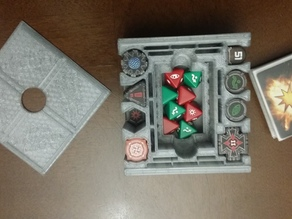 Improved X-Wing Token Holder