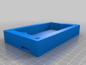 printable 13A double skt surface spur & base (UK)
